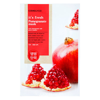 it's fresh pomegranate mask sheet