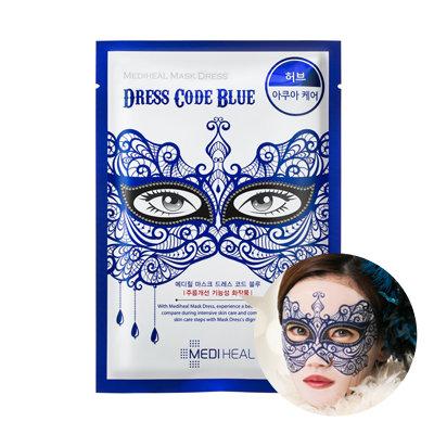 Mediheal Mask Dress - Blue