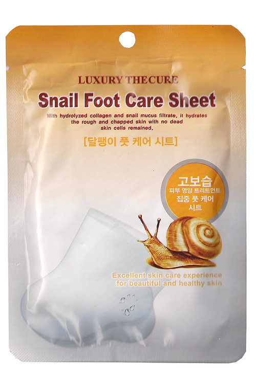 LUXURY THE CURE Snail Foot Pack