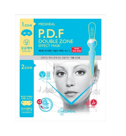 Mediheal P.D.F Double Zone Effect Mask - Pore