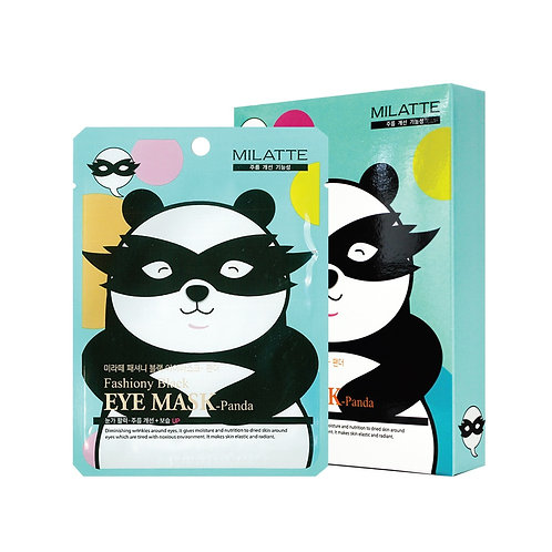 MILATTE FASHIONY BLACK EYE MASK - PANDA