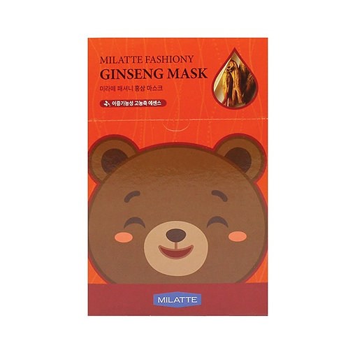 MILATTE FASHIONY GINSENG MASK SHEET