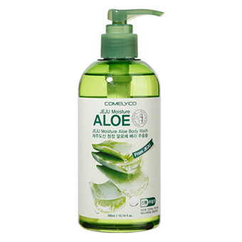 Jeju moisture aloe body wash