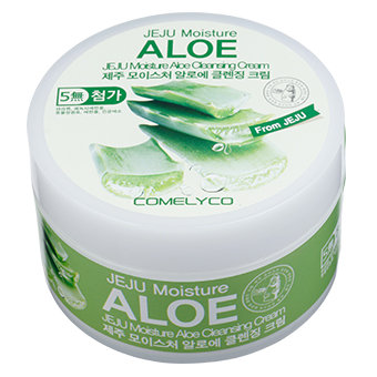 JEJU MOISTURE ALOE CLEANSING CREAM
