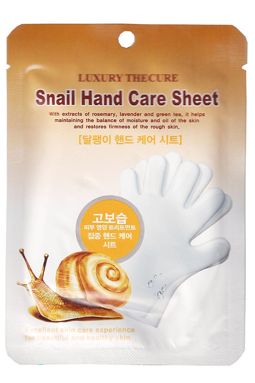 LUXURY THE CURE Snail Hand Pack