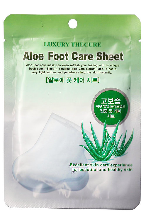 LUXURY THE CURE Aloe Foot Pack