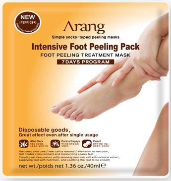 Arang Intensive Foot Peeling Pack