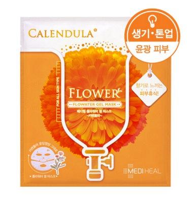 Mediheal Flowater Gel Mask - CALENDULA