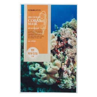 COMELYCO JEJU OCEAN CORAL MASK