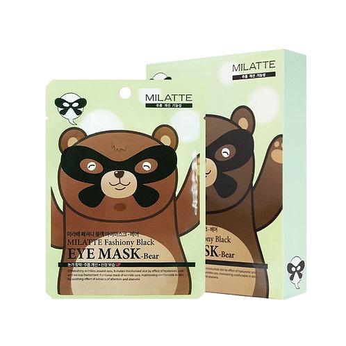 MILATTE FASHIONY BLACK EYE MASK - BEAR