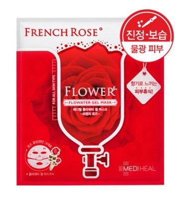 Mediheal Flowater Gel Mask - FRENCH ROSE