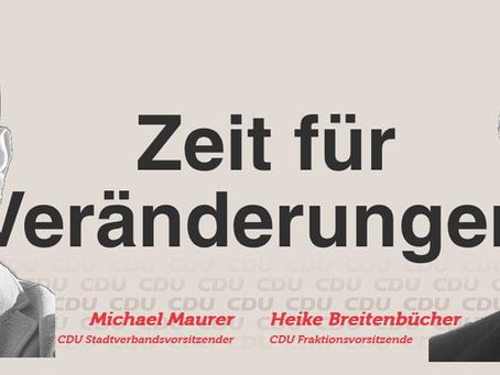 CDU Marbach - mit neuer Homepage online