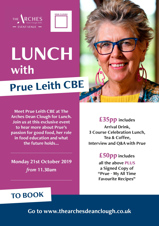 Prue Leith flyer