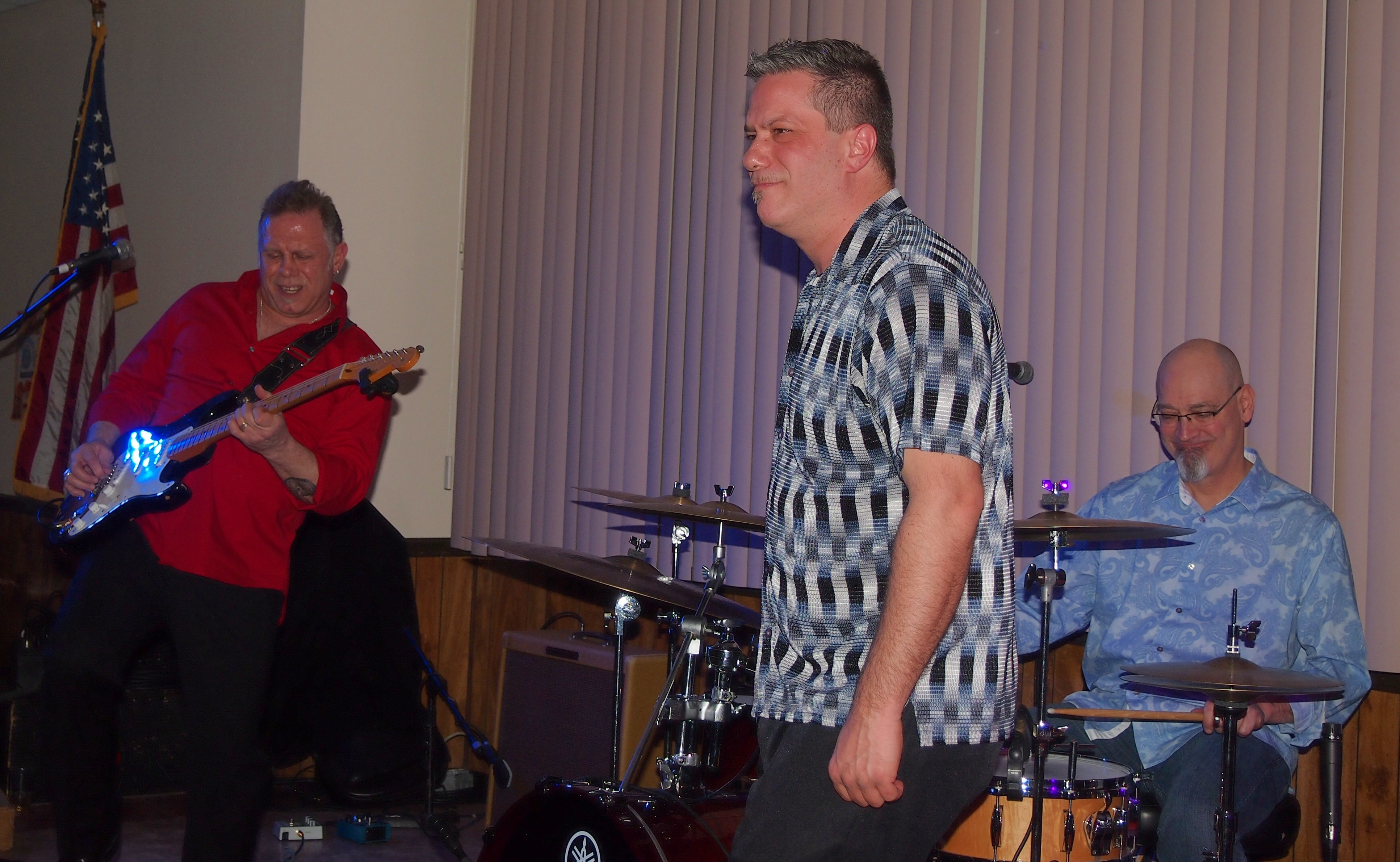 Carl Ricci 706 Union Band with Drew Blood7x