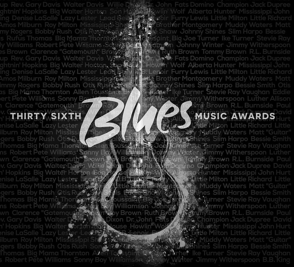 v3.2016 Album Cover: 36th Annual Blues Music Awards