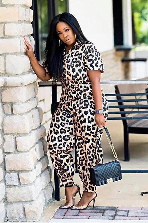 Leopard 🐆Jumpsuit