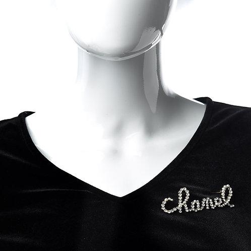 Chanel Cursive (silver)