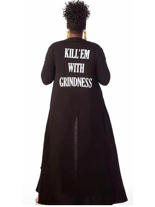 Killem with grindness duster