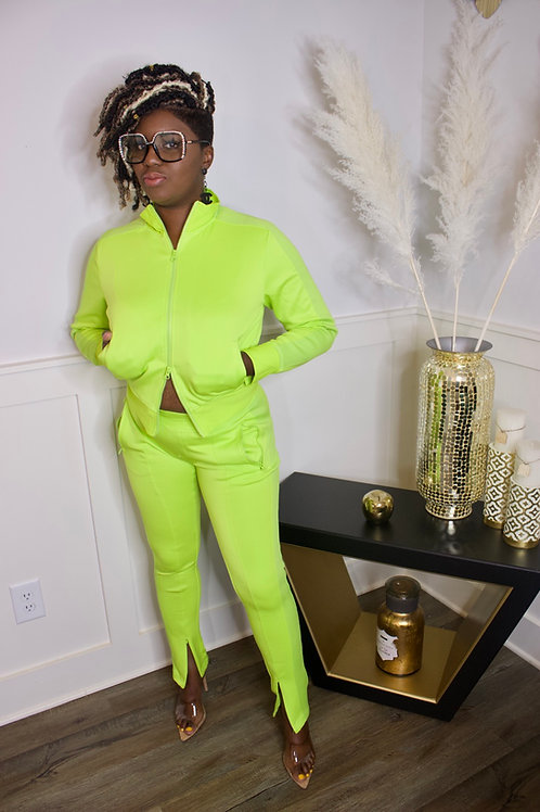 The Set (Neon Lime)