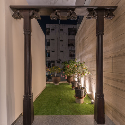 Puja Terrace