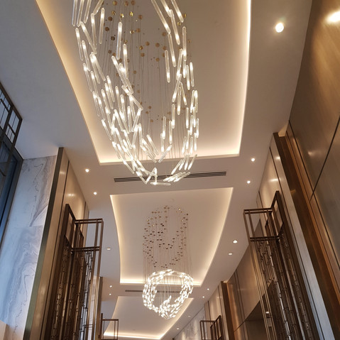 Lounge ceiling
