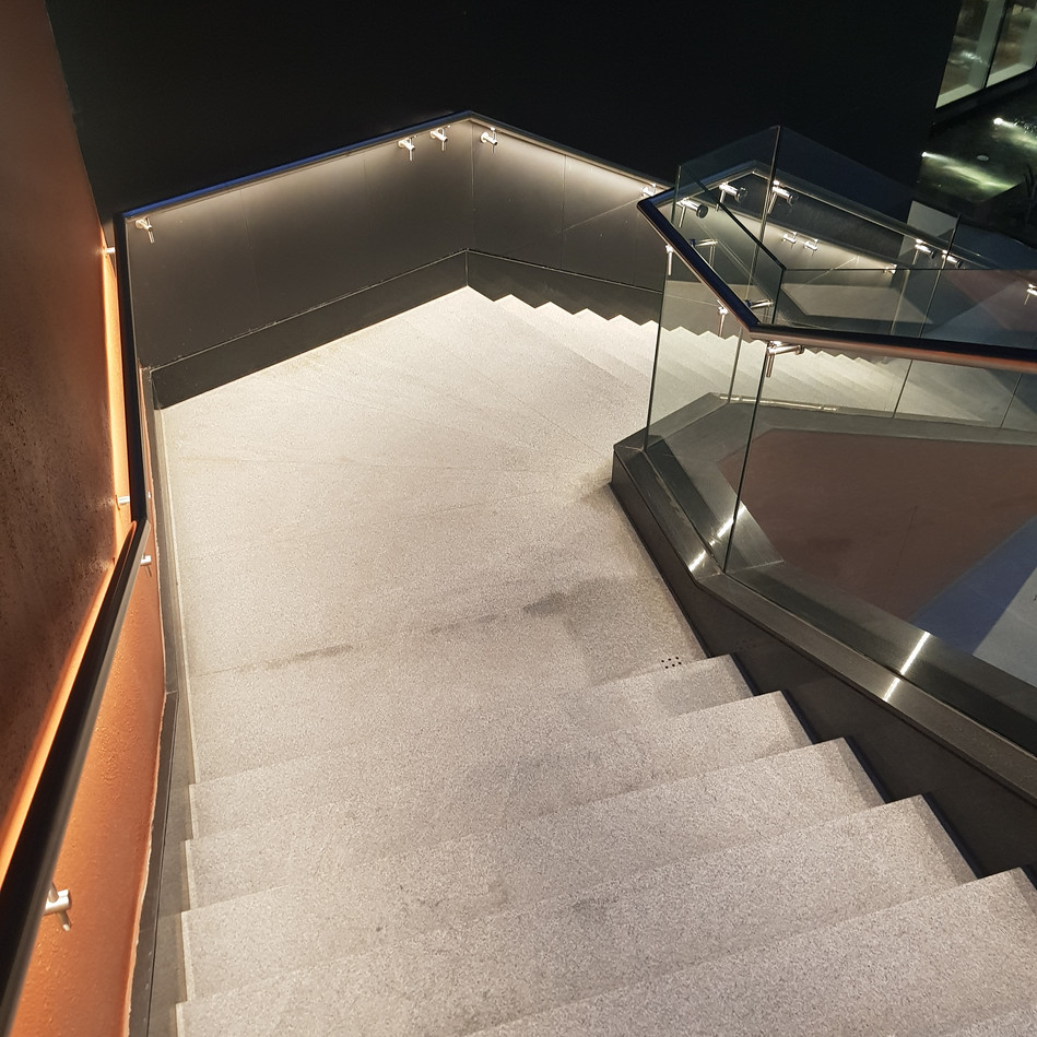 Staircase to Outdoor deck