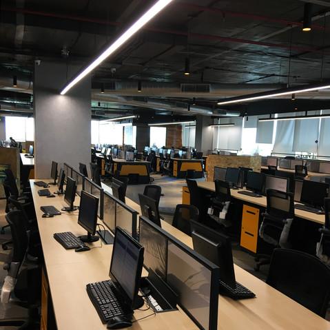 Staff workstations