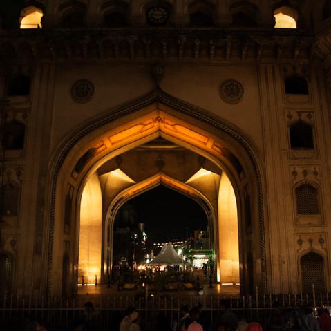 Chariminar Arches Exterior
