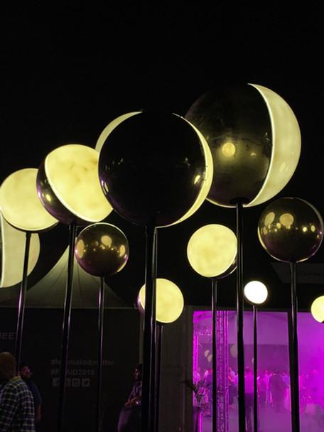 Orbs Light Installation