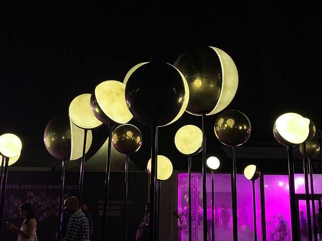 The ORBS Light Installation