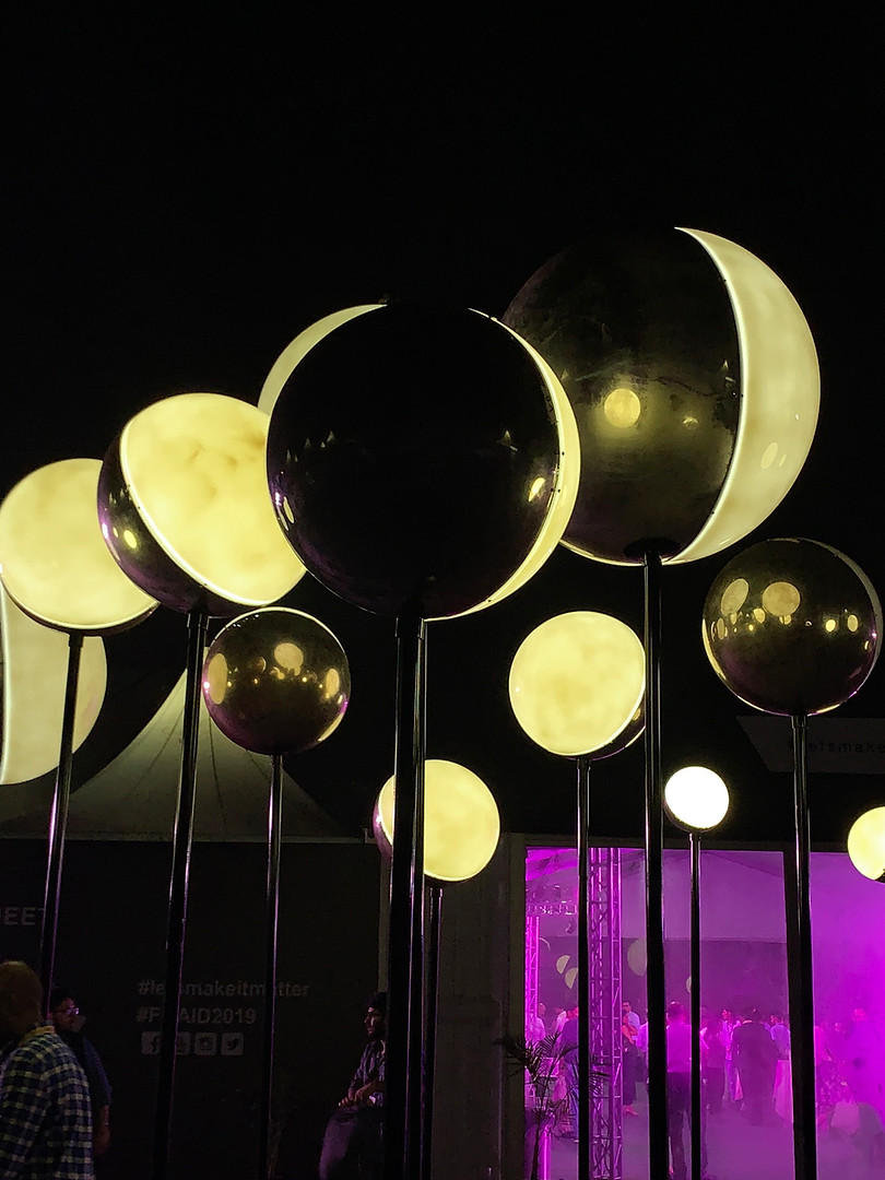 Orbs Light Installation