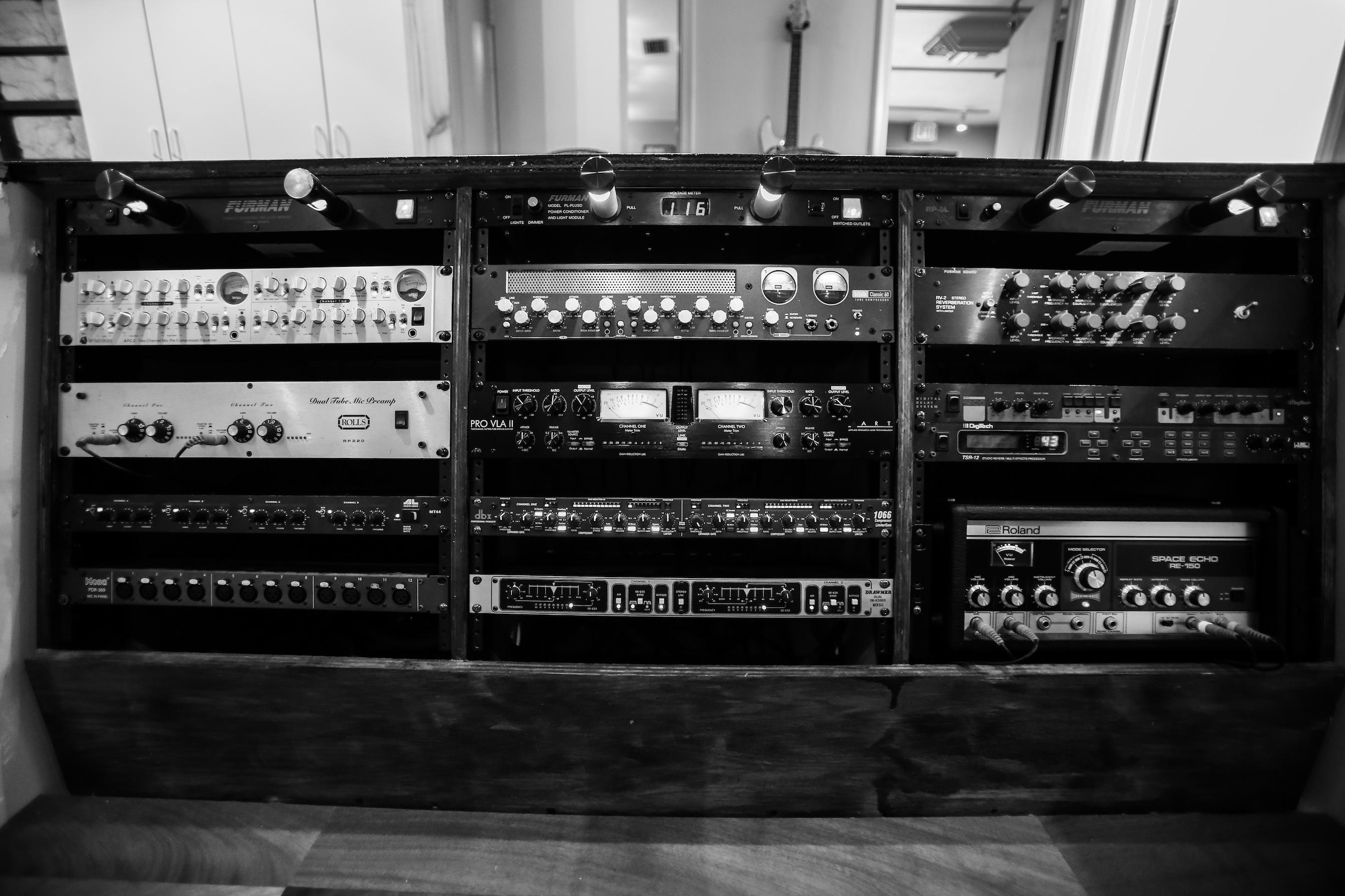 Studio/Control Room B