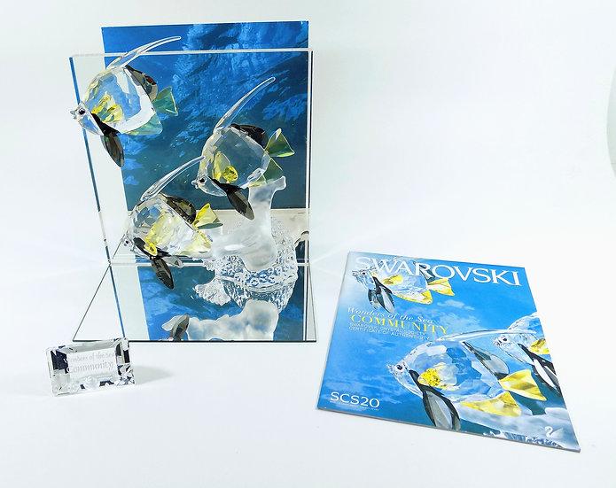 Swarovski Silver Crystal Wonders Of The Sea, Community Colour & Title Plaque