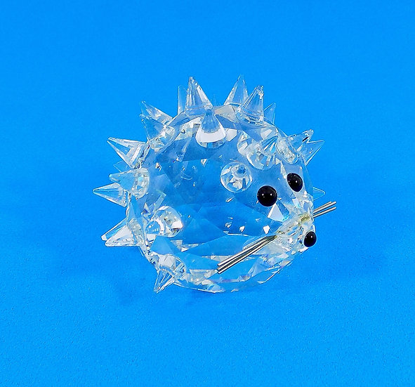 Swarovski Silver Crystal Large Hedgehog, Original Case