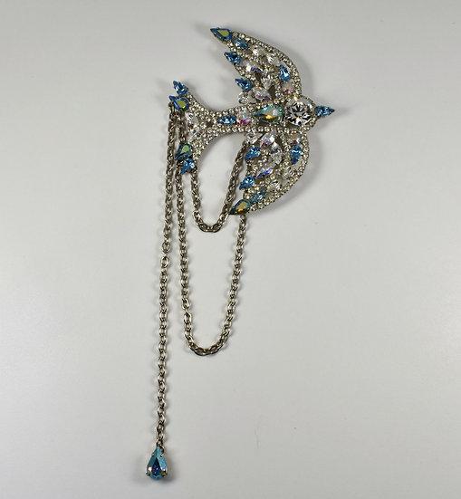 Butler & Wilson Bird Brooch, Swarovski Crystals