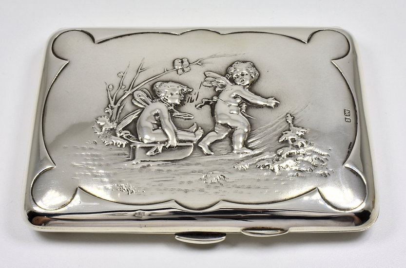 Antique English Edwardian Solid Silver Aide Memoire (Colen Cheshire, 1905)