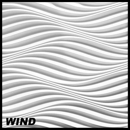 1 Platte 3D Paneele 60x60cm, WIND