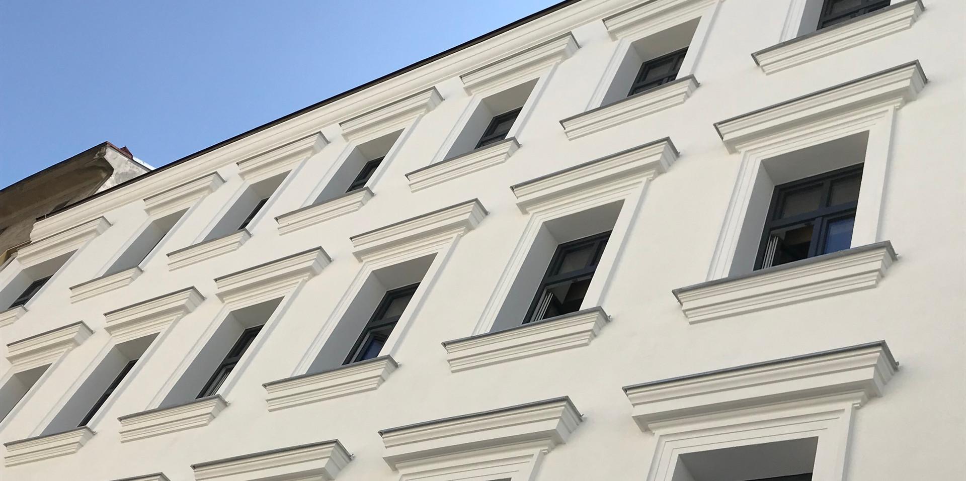 Fassadenstuck Wien