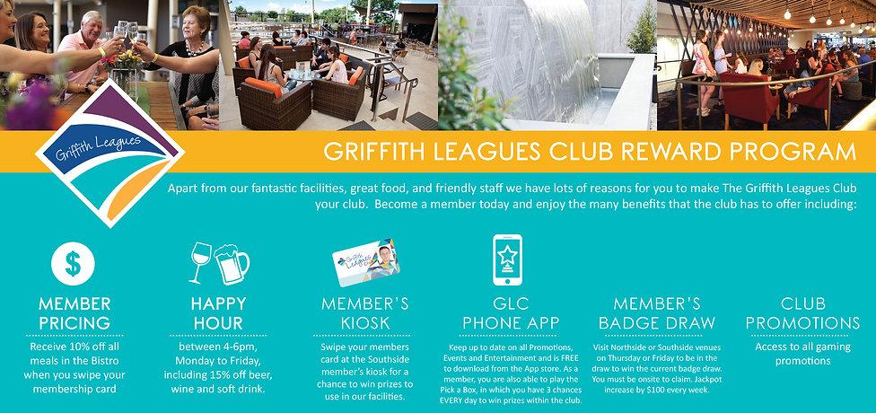 Griffith Leagues Reward Program