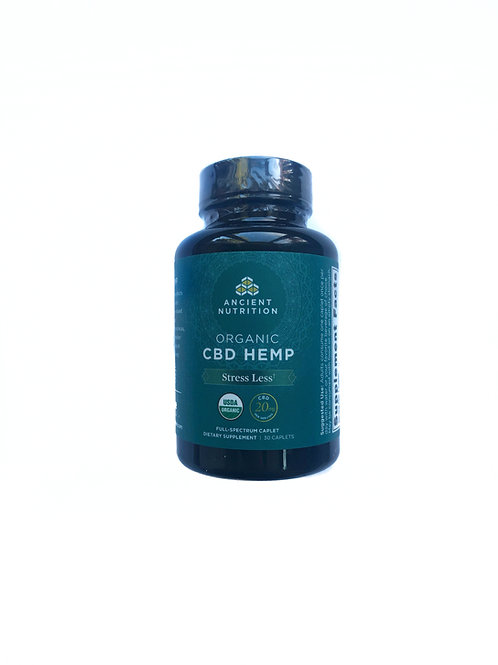 Stress Less CBD Capsules 20mg by Ancient Nutrition