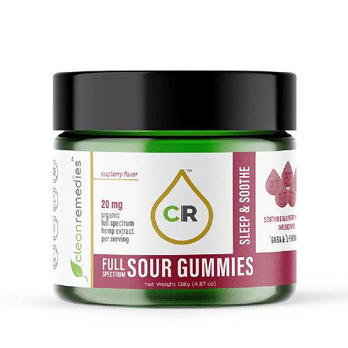 20mg Sleep & Soothe CBD Gummies