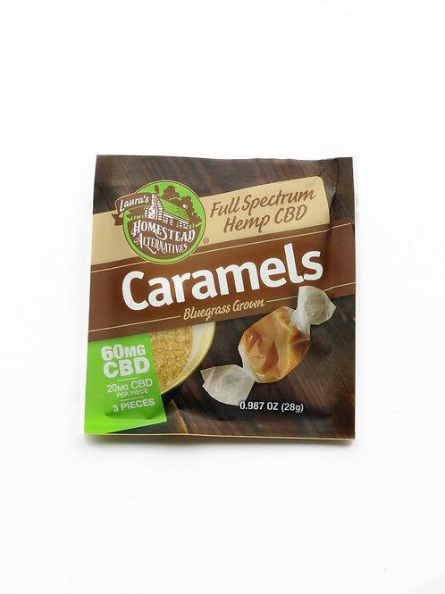 CBD Caramels Mini Pack-Laura's Homestead Mercantile