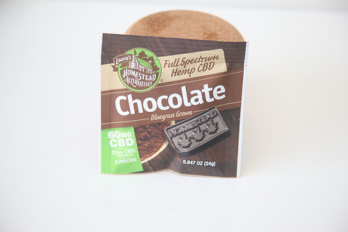 CBD Chocolate Mini Pack-Lauras Homestead Mercantile