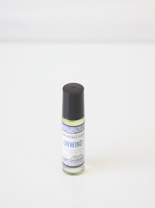 Unwind 100mg CBD Essential Oil roller