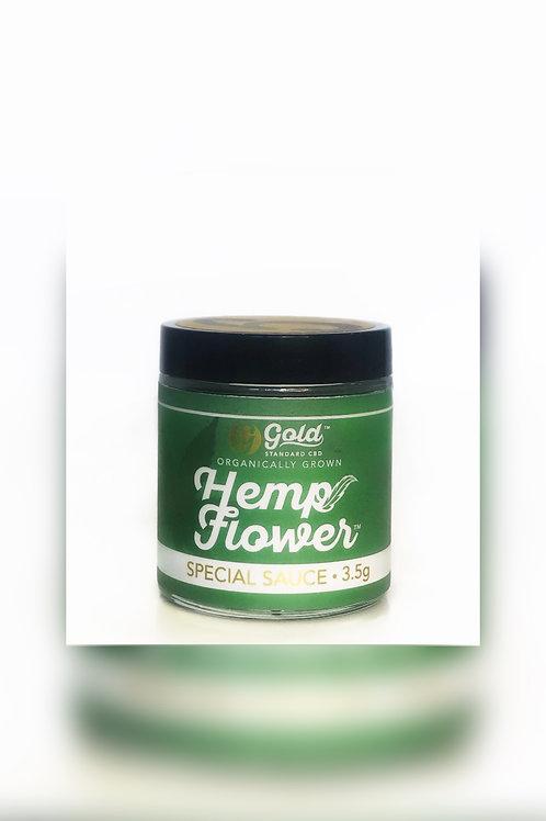 Special Sauce Hemp Flower-Gold Standard