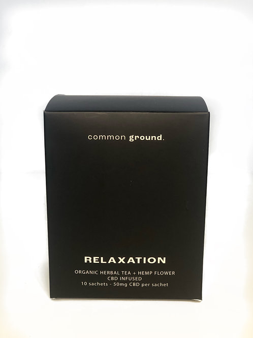 RELAXATION CBD TEA-COMMON GROUND