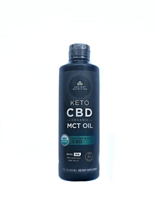 Organic Keto CBD w/ MCT oil