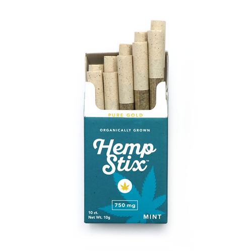 """750mg Hemp Stix Pack """"Mint"""""""