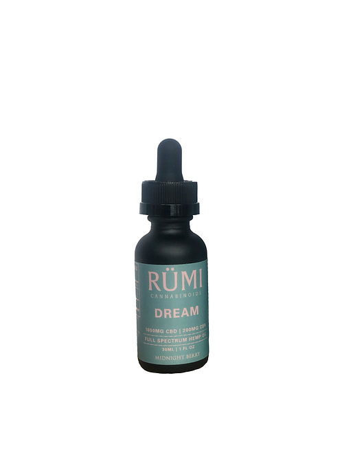 1000MG DREAM CBD OIL-RUMI