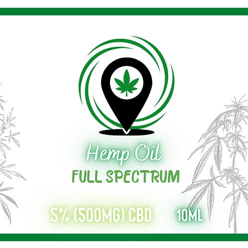 Olej 5% GREEN SPOT 10ml